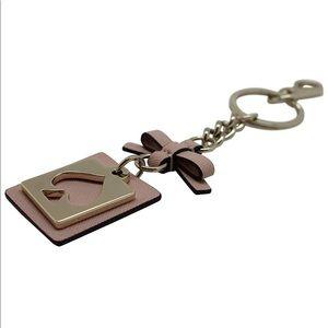 Kate Spade Dark Plum Keychain